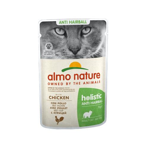 Almo Nature - Cat - Anti-Hairball - Poulet & Riz