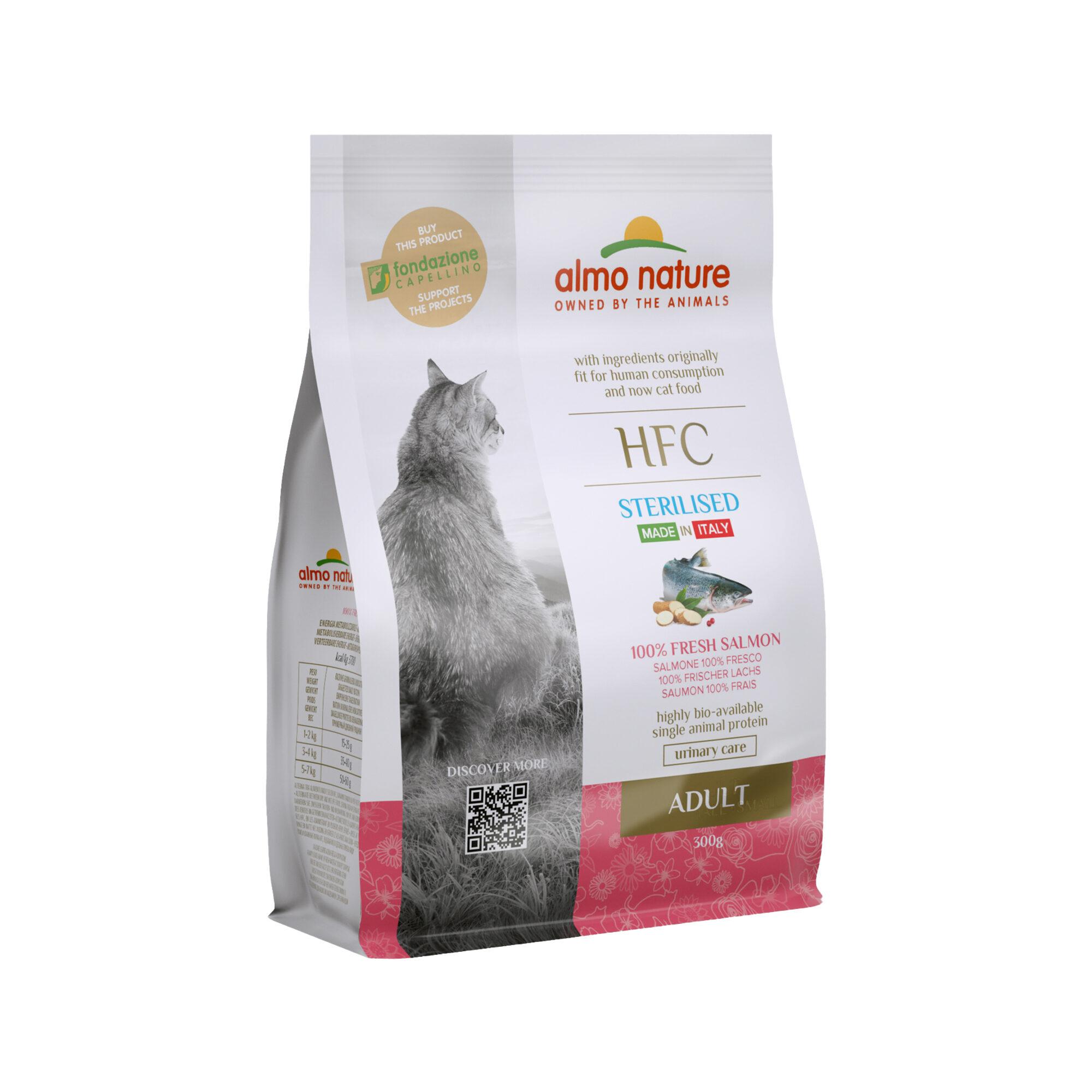 Almo Nature HFC Adult Sterilised Katzenfutter - Lachs - 300 g