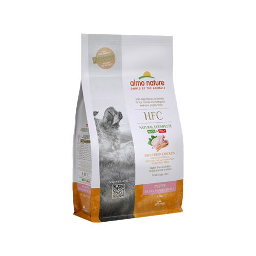 Almo Nature HFC (Extra) Small Welpen - Huhn - 1,2 kg