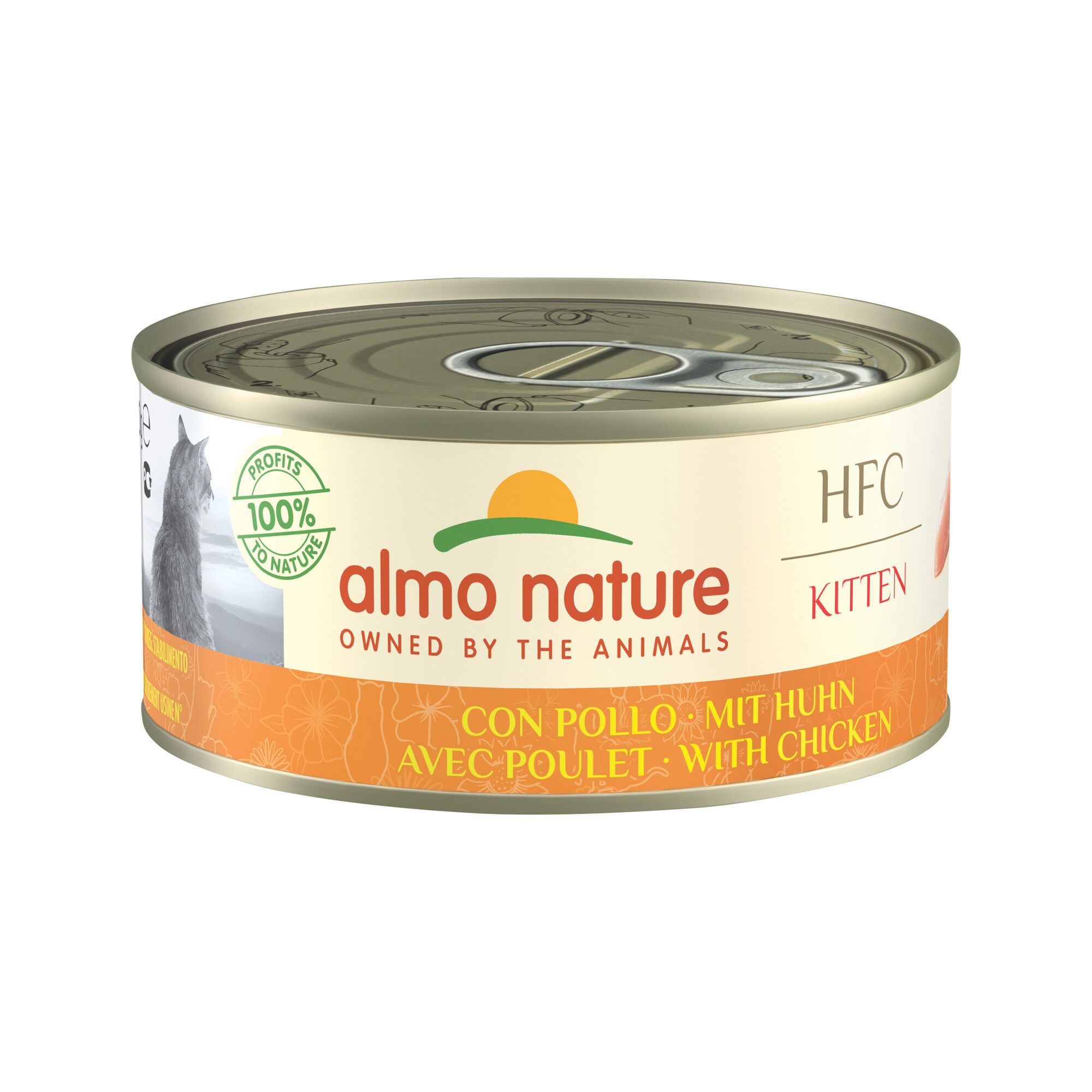 Almo Nature HFC Kitten - Poulet - 24 x 150 g