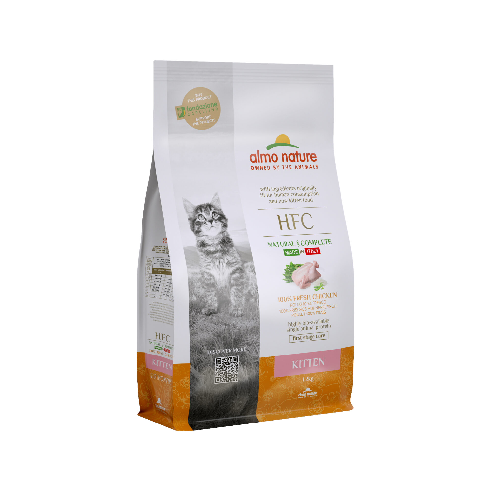 Almo Nature HFC Kittenfutter - Huhn