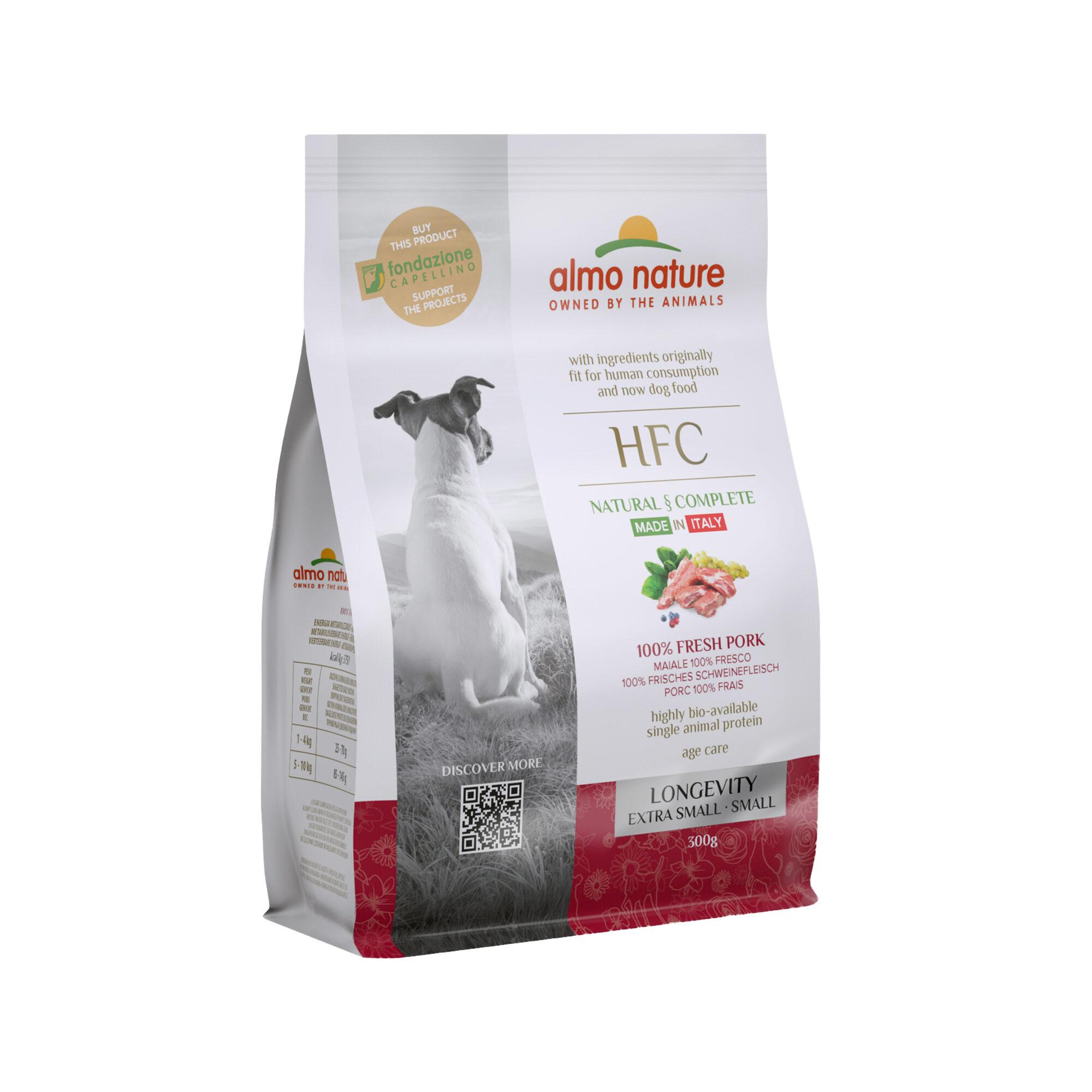 Almo Nature HFC Longevity (Extra) Small - Hunde - Schwein