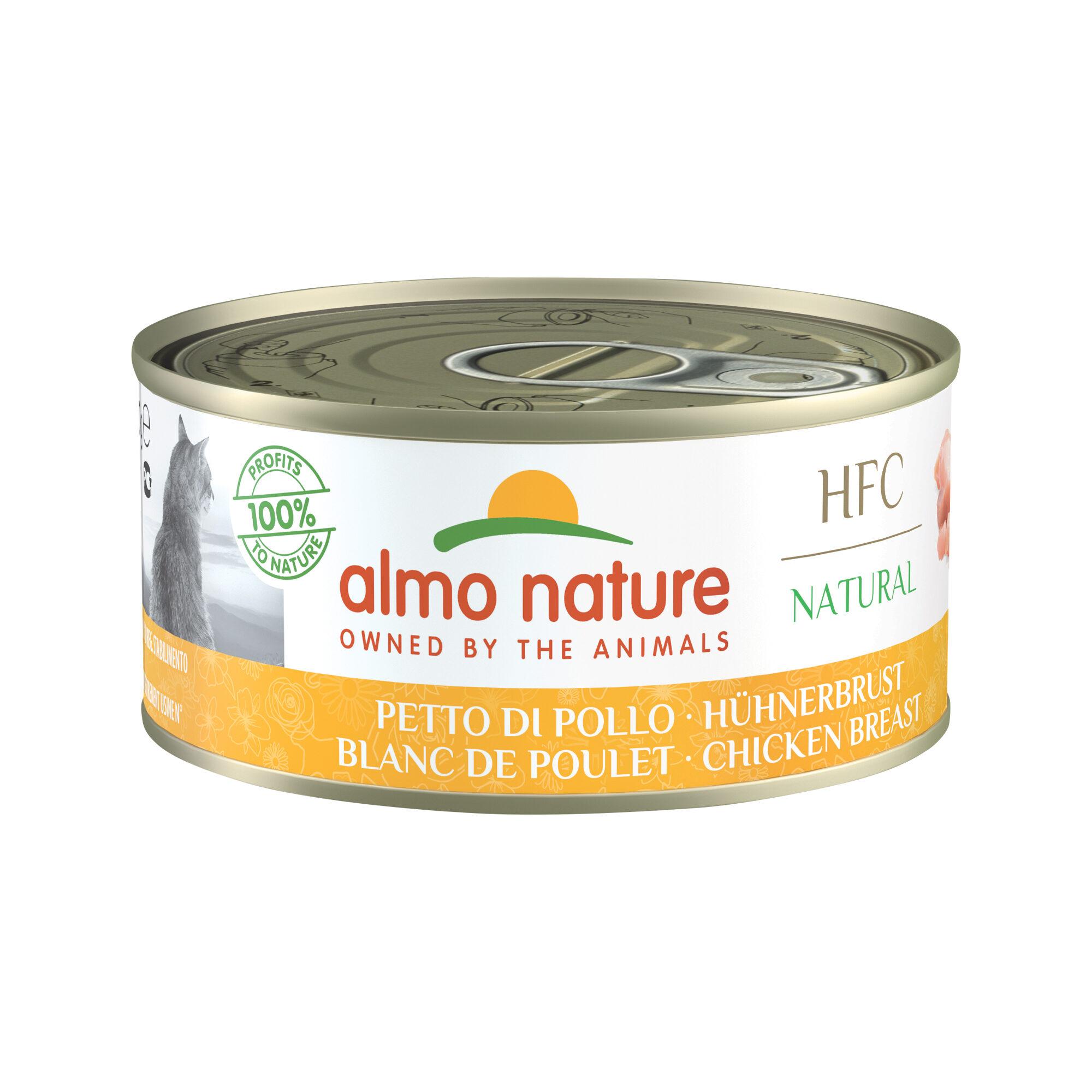 Almo Nature HFC Natural Alimentation pour chat- Blanc de poulet