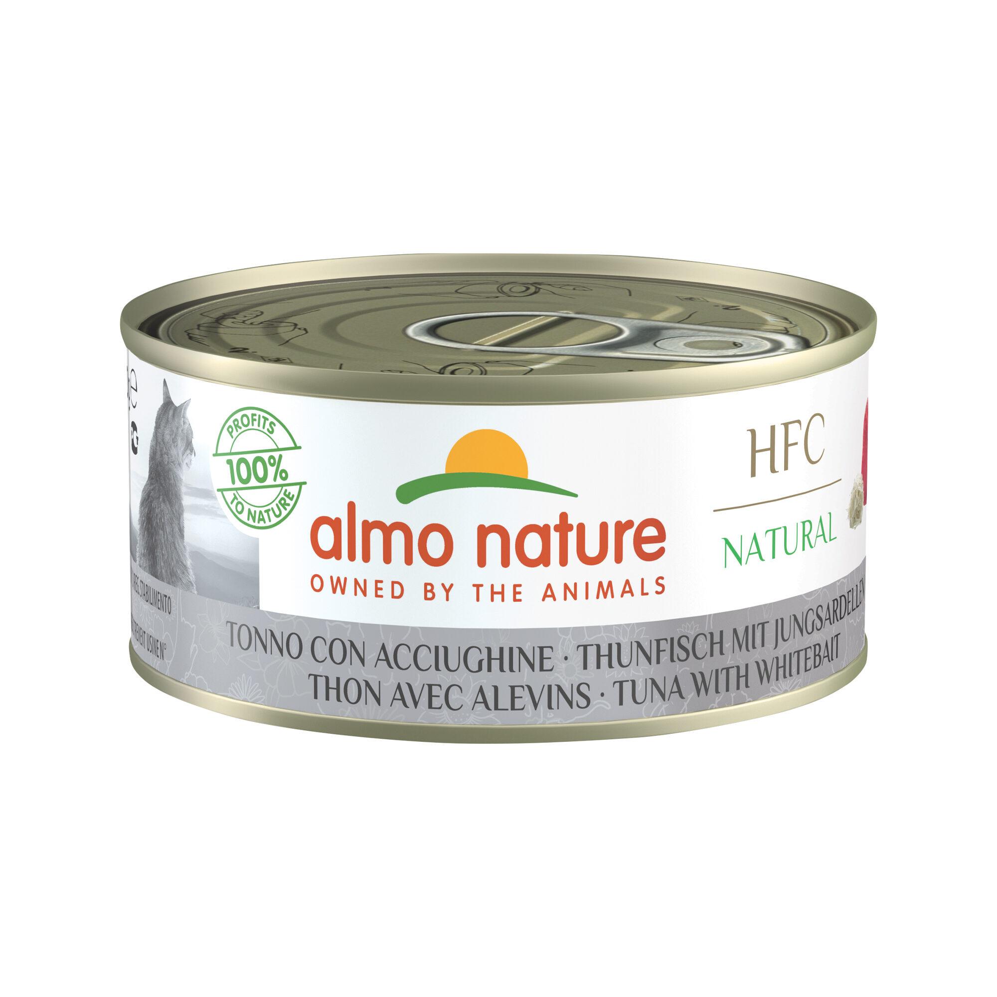 Almo Nature HFC 150 Natural - Thunfisch mit Jungsardellen - 24 x 150 g