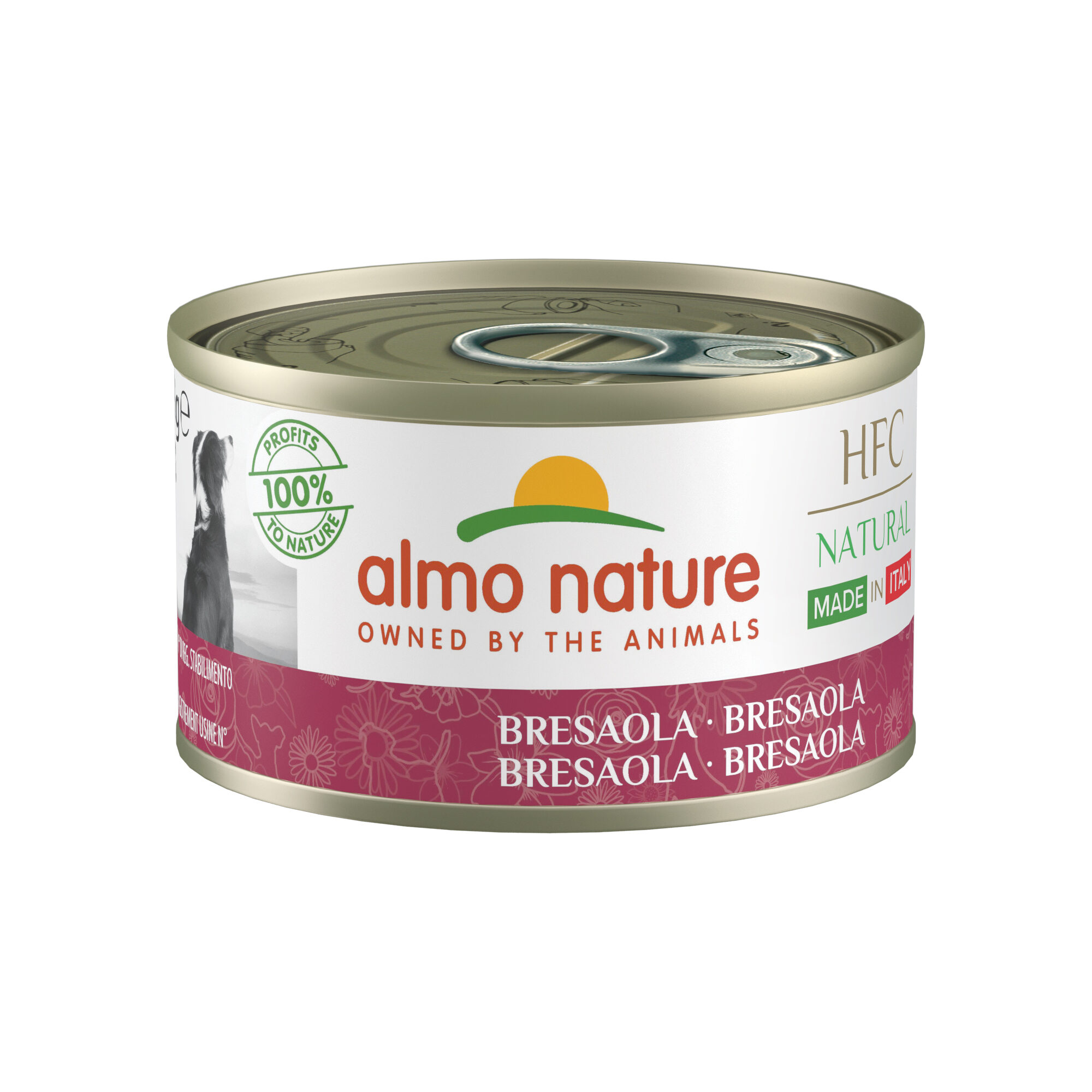 Almo Nature HFC Natural Made in Italy - Bresaola - 24 x 95 g