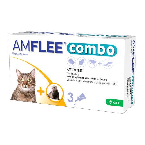 Amflee Combo Spot-on Katze - 50 mg - 3 Pipetten