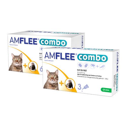 Amflee Combo Spot-on für Katzen & Frettchen