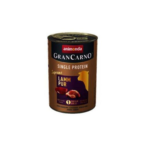Animonda Grancarno - Agneau pur - 6 x 400 g