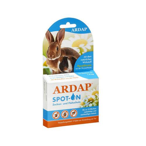 Ardap Spot-On für Kleintiere 1-4 kg - 3 x 0,4 ml