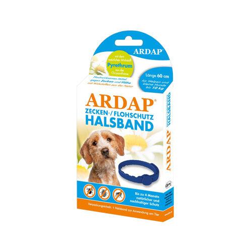 Ardap Zecken- & Flohhalsband für kleine Hunde bis 10 Kg - 60 cm