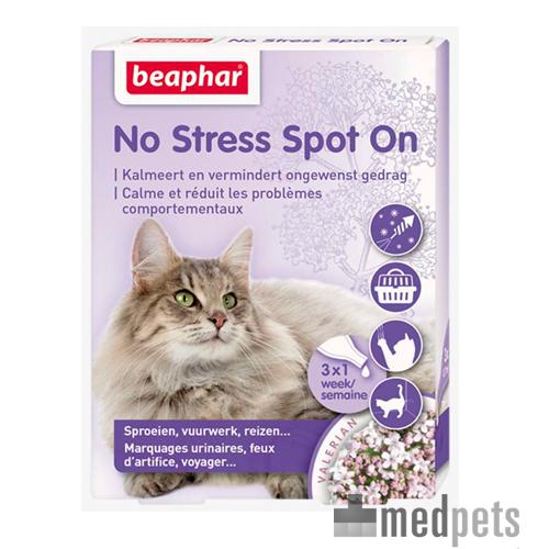 Beaphar No Stress Katze Pipetten - 3 Pipetten