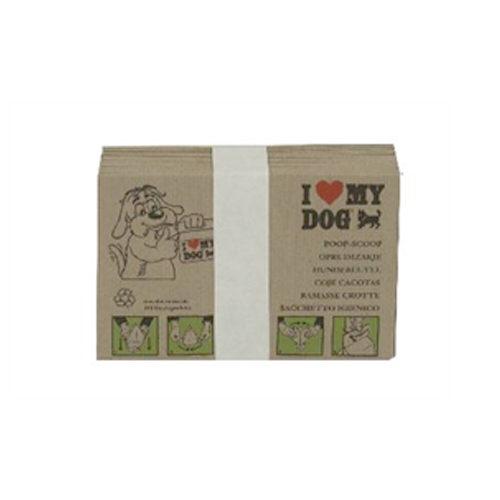 I Love My Dog Hundekotbeutel