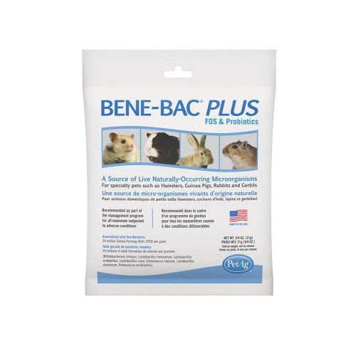 Bene-Bac Plus Small Animal Kleintier - 21 g