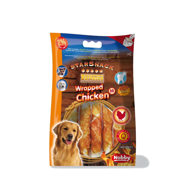 Nobby Starsnack - Chicken Wrapped