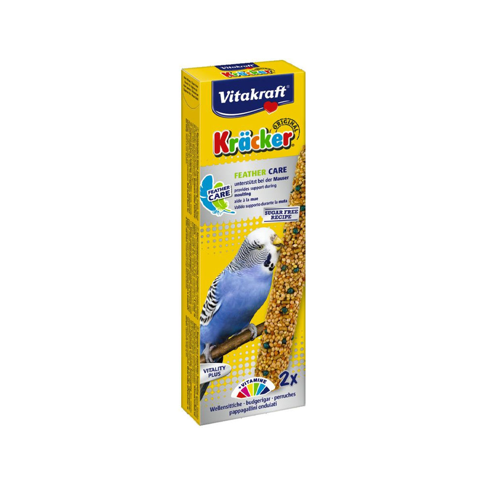 Vitakraft Kräcker - Perruche - Feather Care