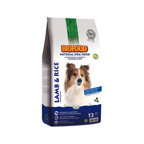 Biofood Hundefutter - Lamm & Reis - 12,5 kg