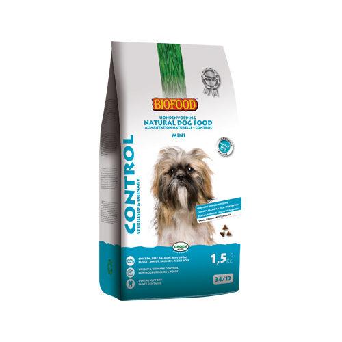 Biofood Control Mini Hundefutter - 1,5 kg