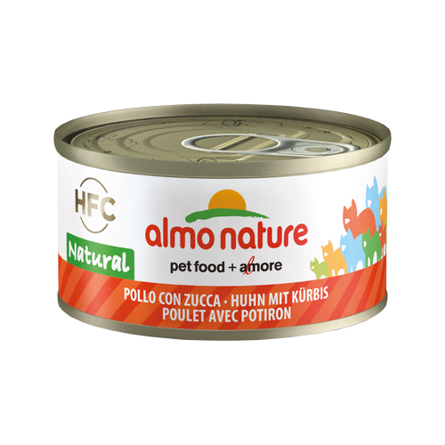 Almo Nature HFC 70 Natural - Poulet et citrouille - Boîte