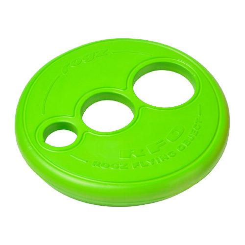 Rogz Flying Object Frisbee - Citron vert
