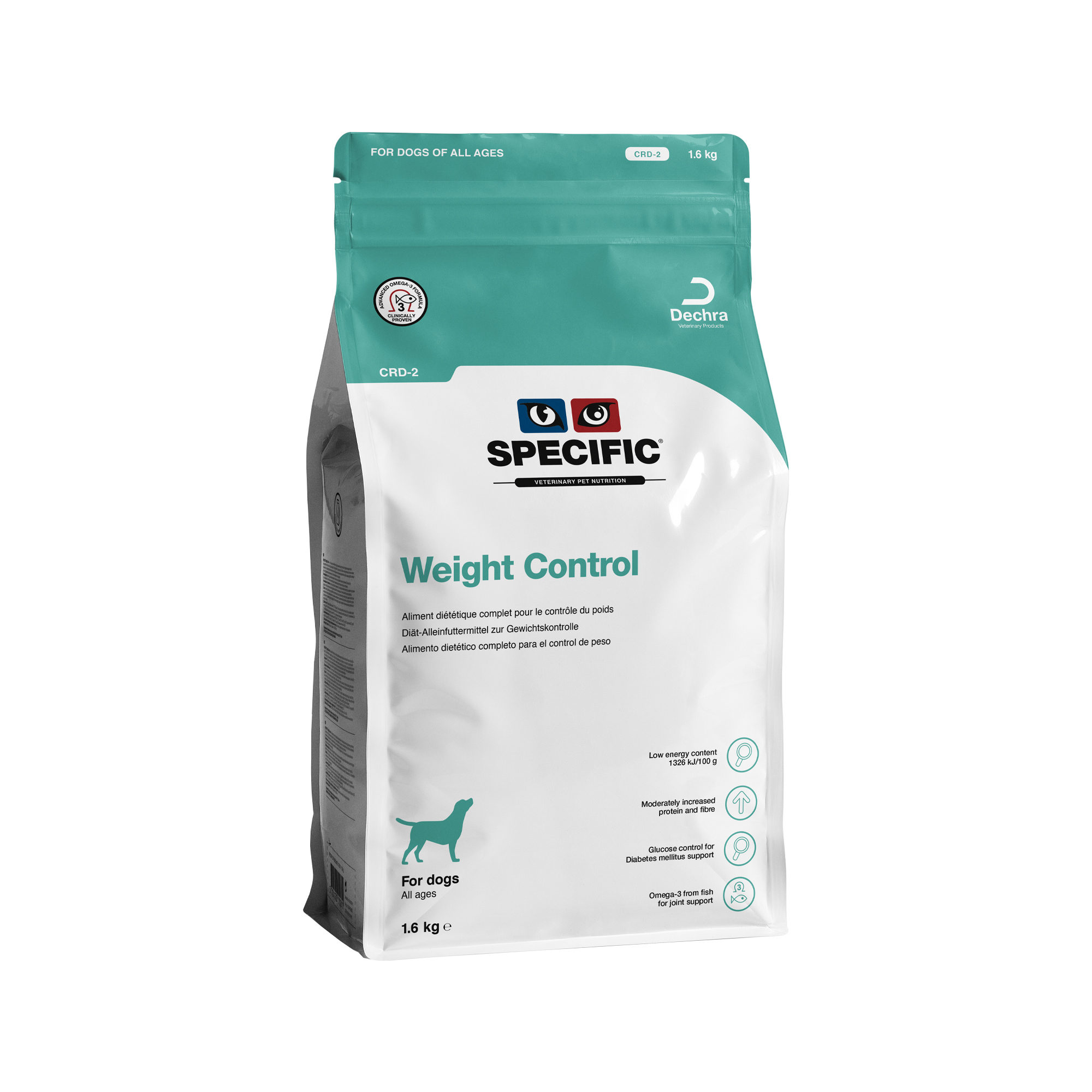 SPECIFIC Weight Indonesische CRD-2 Alimentation pour chien