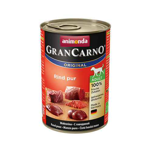 Animonda GranCarno Original Adult Hundefutter - Dosen - Rind