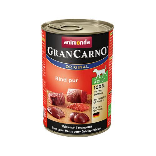 Animonda GranCarno Original Adult Hundefutter - Dosen - Rind - 6 x 400 g