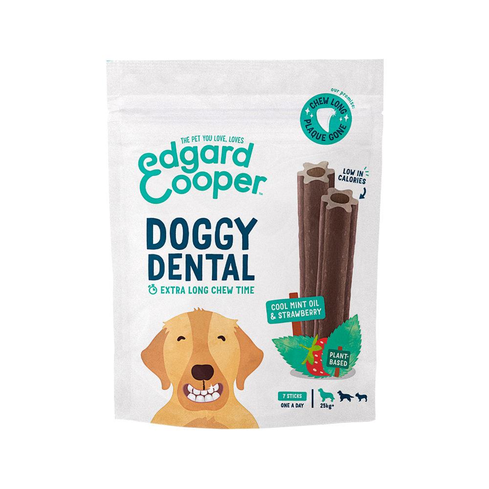 Edgard & Cooper Doggy Dental Large - Menthe et fraise