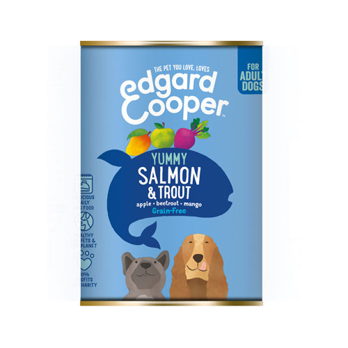 Edgard & Cooper Adult - Boîte - Saumon et truite