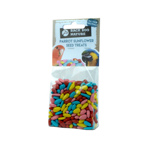 Back Zoo Nature Parrot Sunflower Seed Treats - 100 g
