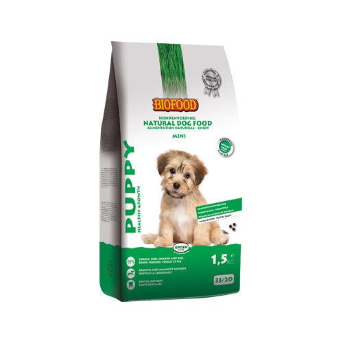 Biofood Mini Puppy Hundefutter - 1,5 kg