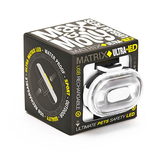 Max & Molly Matrix Ultra LED Sicherheitslampe - Weiß