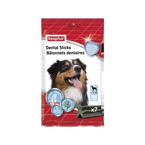 Beaphar Dental Sticks - Moyen / gros(plus de 10 kg)