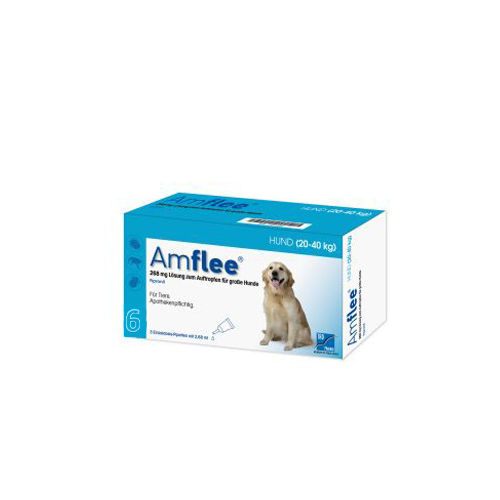 Amflee Spot-on - Chien - 268 mg