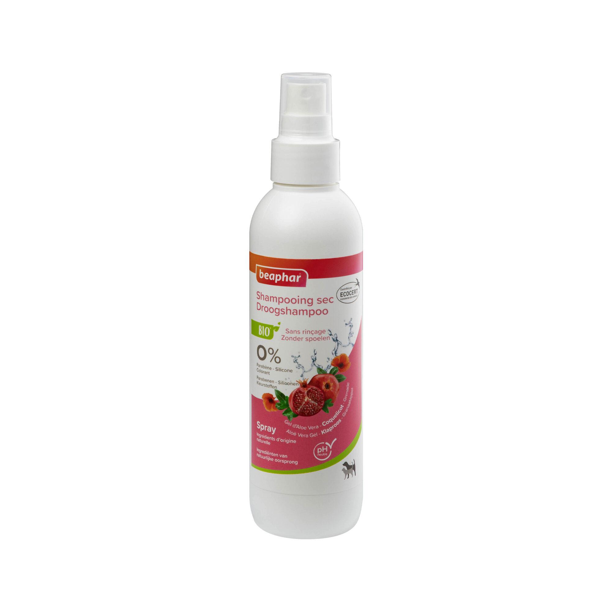 Beaphar Bio Shampoing sec Spray - 200 ml