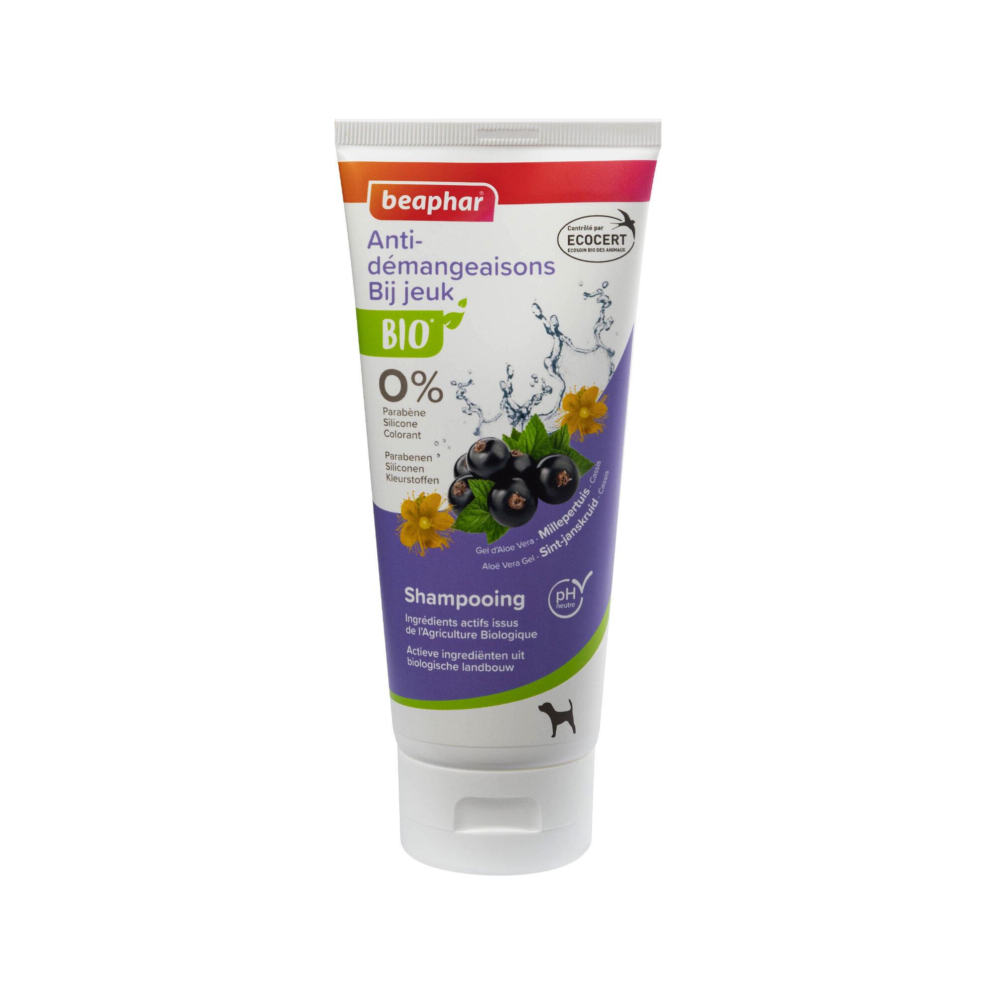 Beaphar Bio - Shampooing pour démangeaisons - Chien - 200 ml