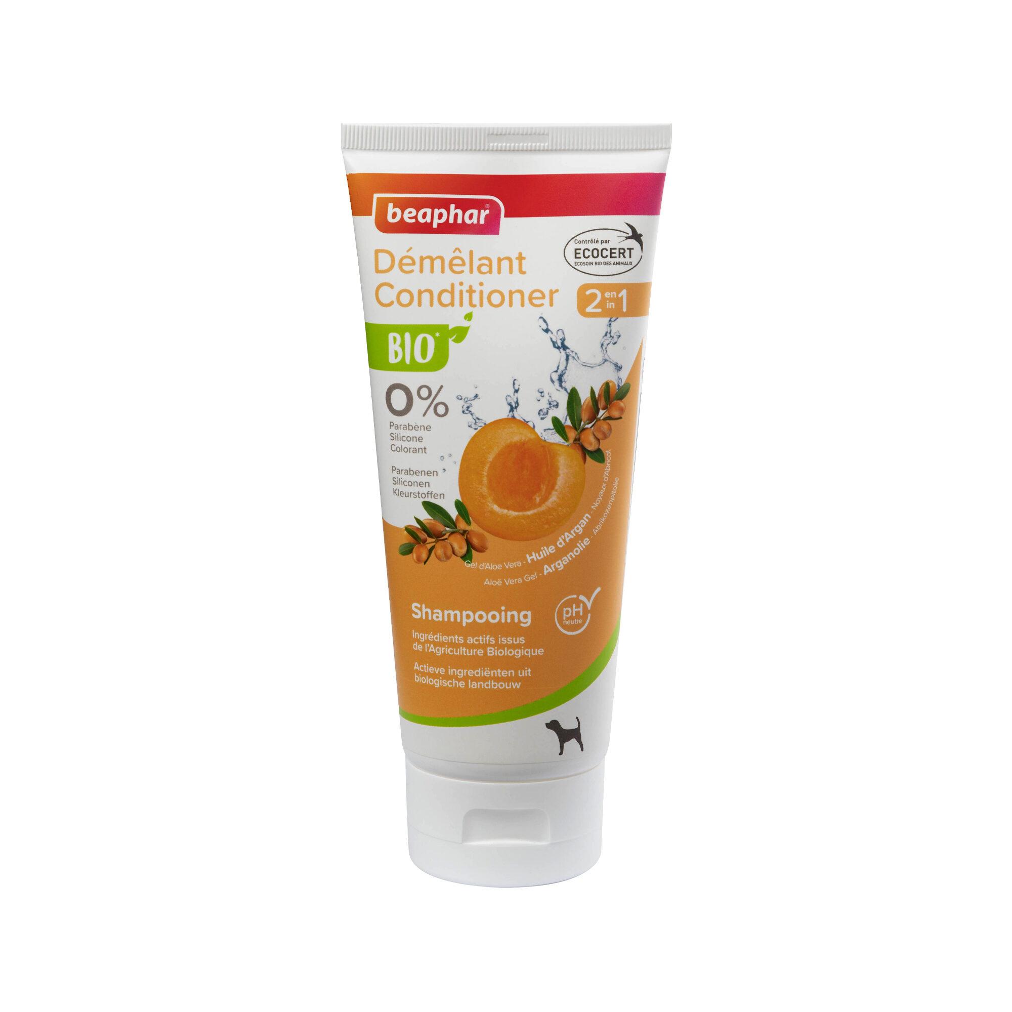 Beaphar Bio Shampoo & Conditioner 2 en 1 pour chien - 200 ml