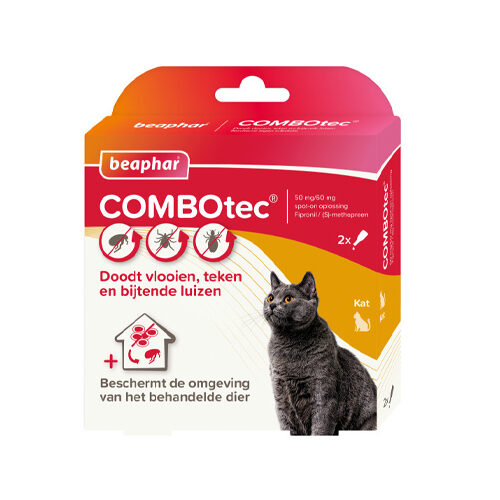 Beaphar COMBOtec - Chat - 2 pipettes