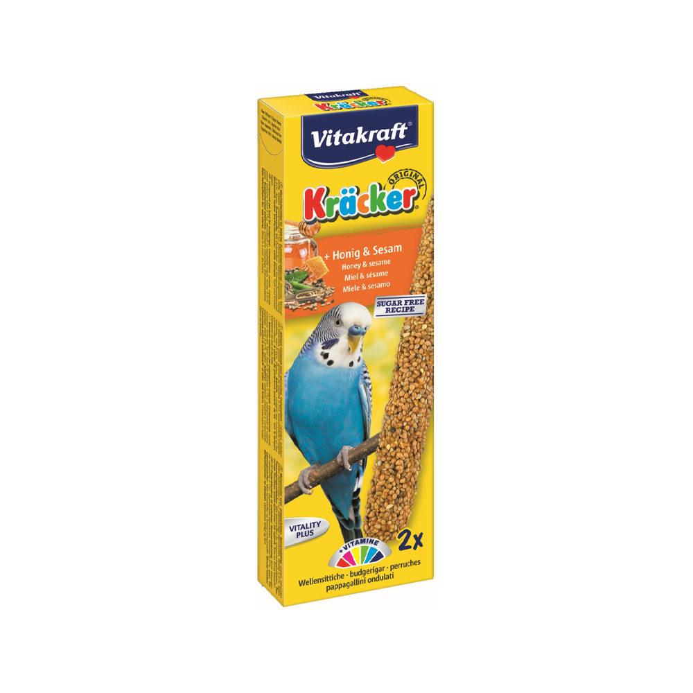 Vitakraft Kräcker - Perruche - Miel et sésame