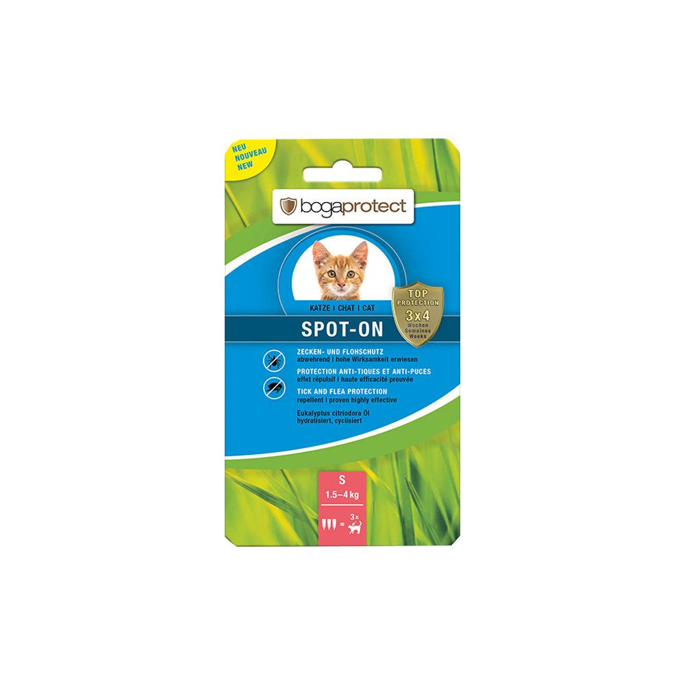 Bogaprotect Spot on für Katzen - S - 1,5 bis 4 kg