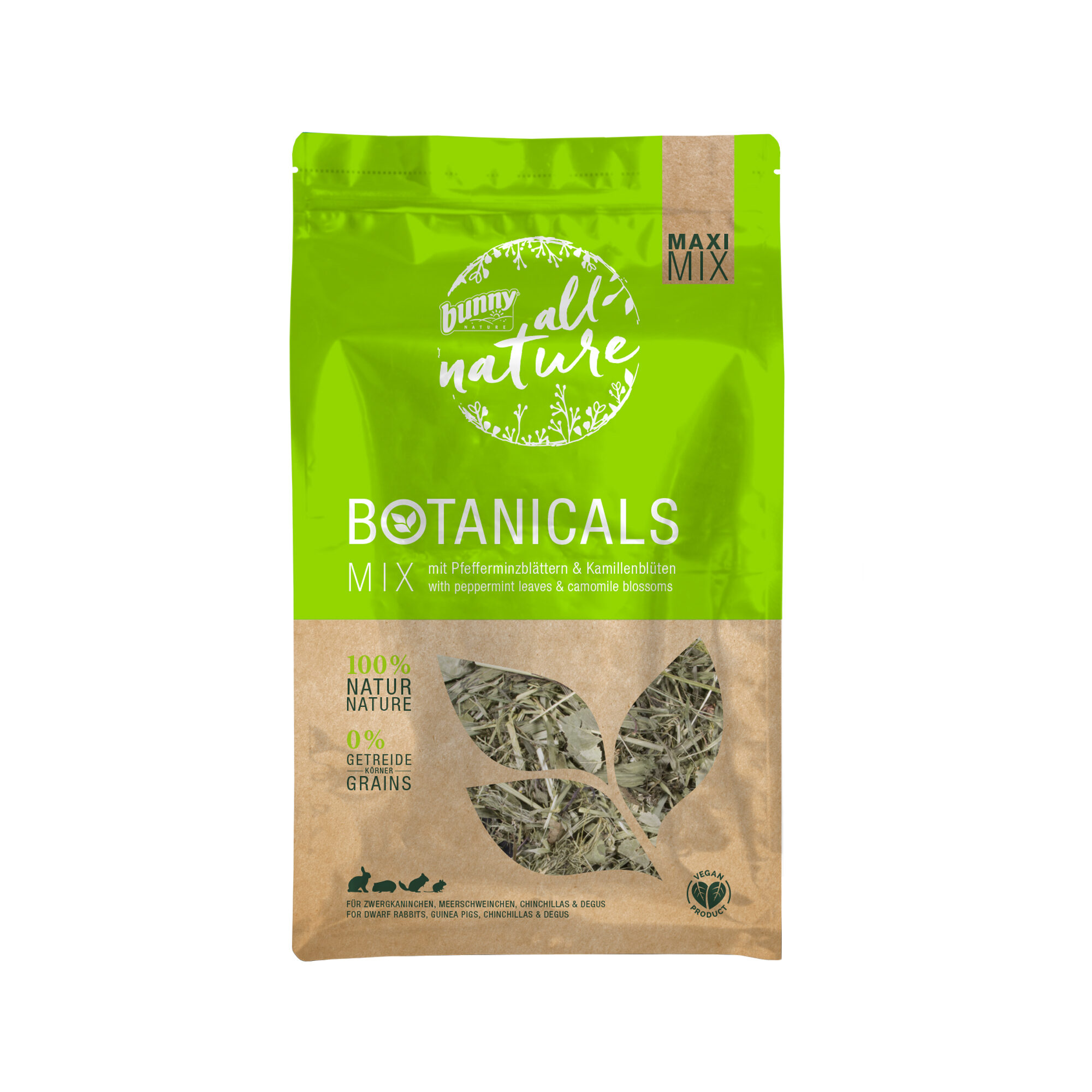 Bunny Nature Maxi Mix Botanicals - Menthe poivrée et camomille - 400 g