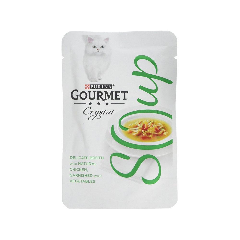 Purina Gourmet Soup - Sachet - Poulet et légumes