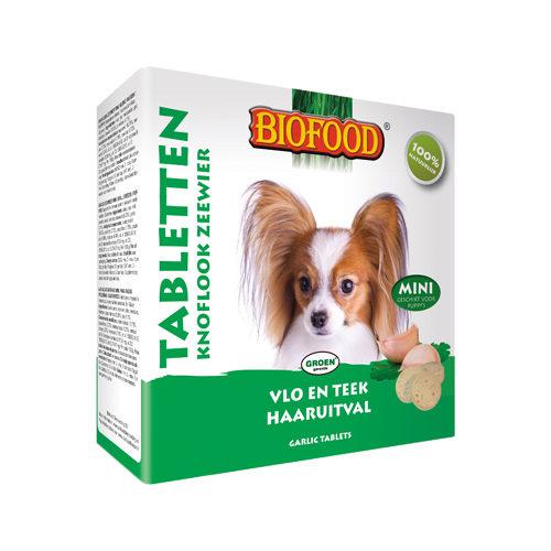 Biofood Knoblauchtabletten 100 Stück (Mini) - Meeresalgen - 100 Stück
