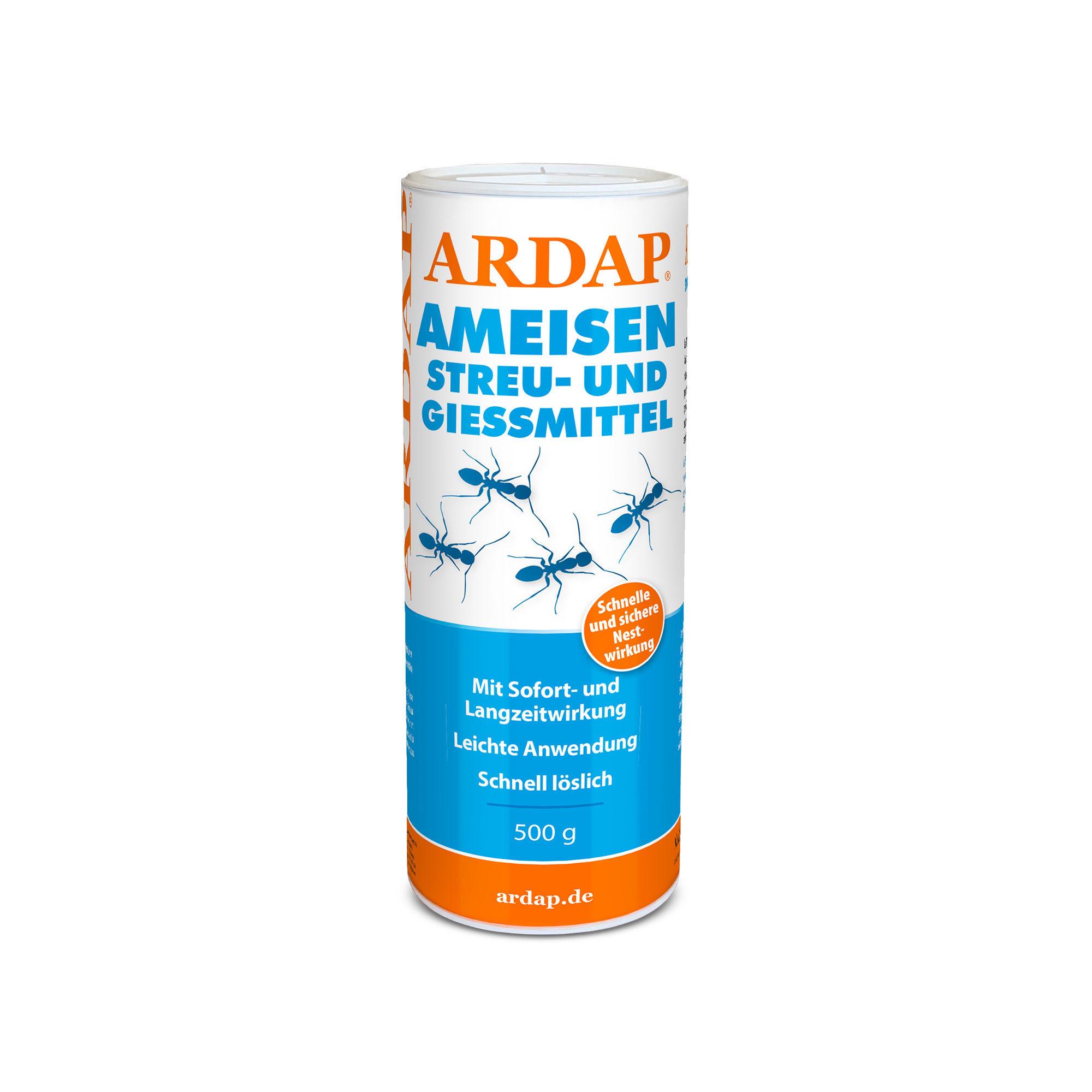 Ardap Ameisen Streu- & Gießmittel - 500 g