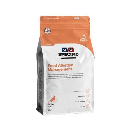 Specific Food Allergen Management FDD-HY Katzenfutter