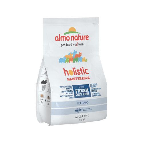 Almo Nature Holistic Adult Katzenfutter - Weißfisch & Reis - 2 kg