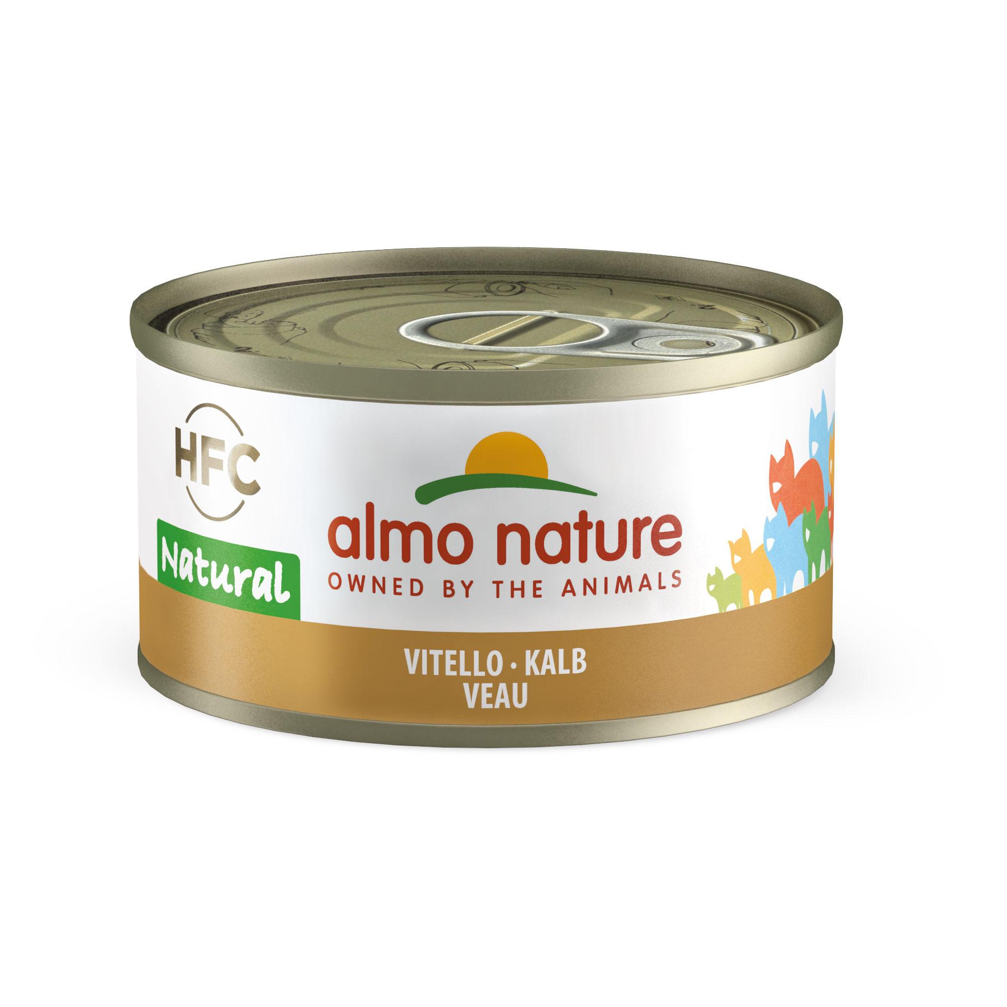 Almo Nature Classic Katzenfutter - Dosen - Rind - 24 x 70 g