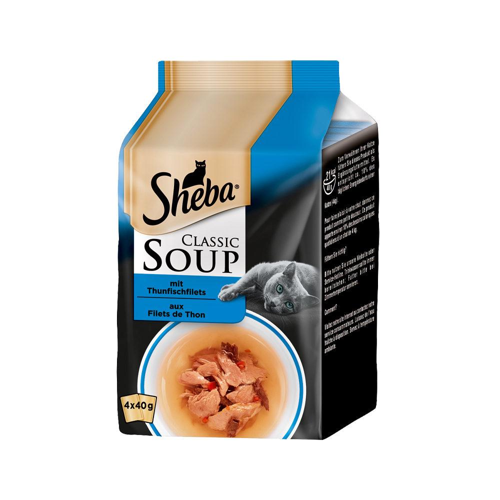 Sheba Classic Soup Multipack Katzenfutter - Thunfisch