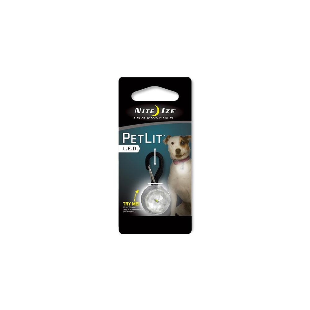 Nite Ize PetLit LED Collar Light - Weiß