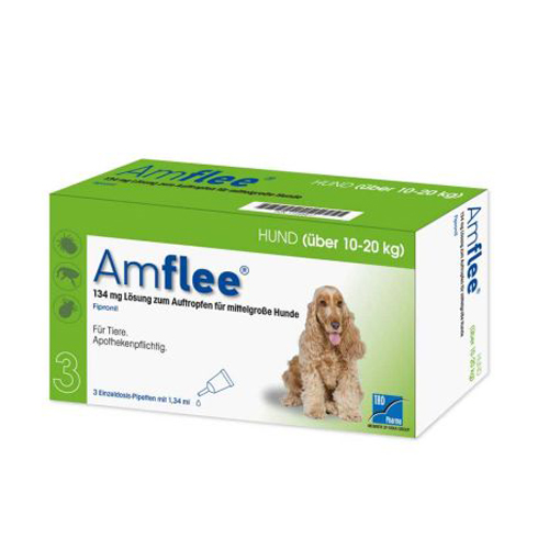 Amflee Spot-on Chien - 134 mg - 3 pipettes