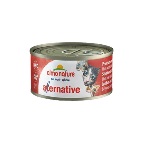 Almo Nature HFC 70 Alternative - Jambon et dinde - Boîte - 24 x 70 g